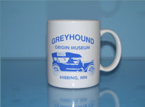 Greyhound Bus Museum Mugs